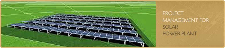 Project Management for Solar Power Plant