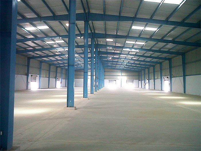 Design fabrication for factory shed steel structure analysis design